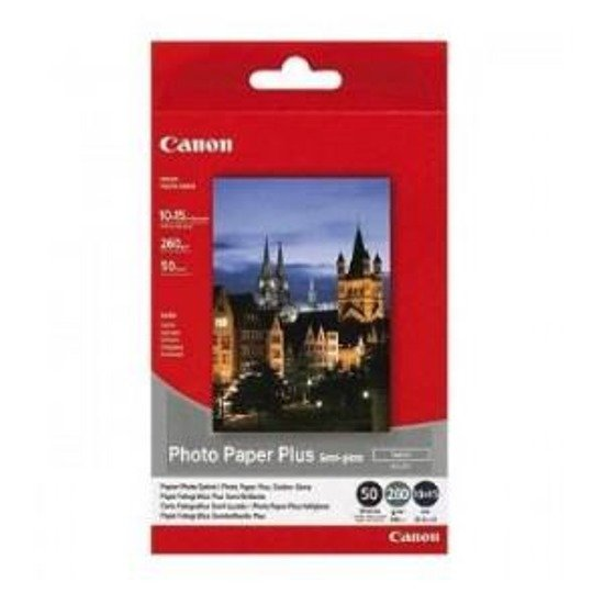 Papier Canon SG201 Photo Plus Semi-glossy 260g 10x15cm 50ark