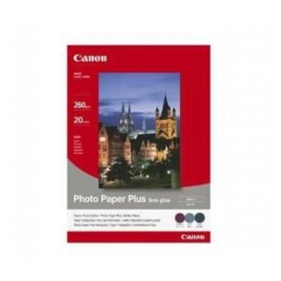 Papier Canon SG201 Photo Plus Semi-glossy 260g, A4, 20ark