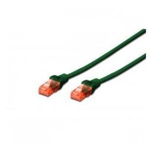Patch cord DIGITUS UTP kat. 6 1m PVC zielony