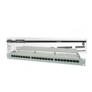 "Patch panel DIGITUS 19"" 24x RJ45 S/FTP kat. 5e 1U"