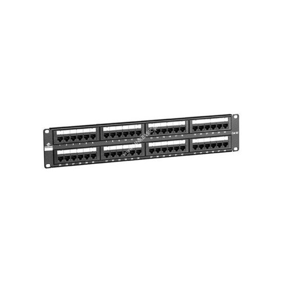 Patch panel UTP kat.5e 48 porty RJ-45 Linkbasic
