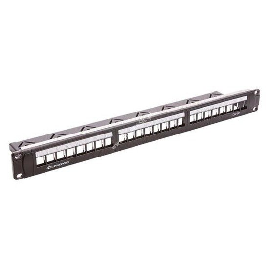 Patch panel nieuzbrojony 24 porty RJ-45 Linkbasic