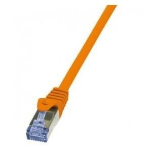 Patchcord LogiLink CQ3078S Cat.6A S/FTP 5m pomarańczowy