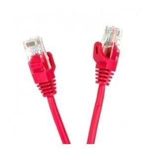 Patchcord UTP cat.5e 0.25m START.LAN czerwony