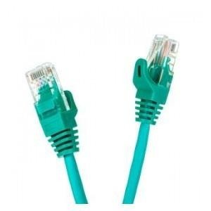 Patchcord UTP cat.5e 1m START.LAN zielony