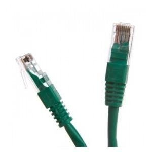 Patchcord UTP cat.6 1m START.LAN zielony