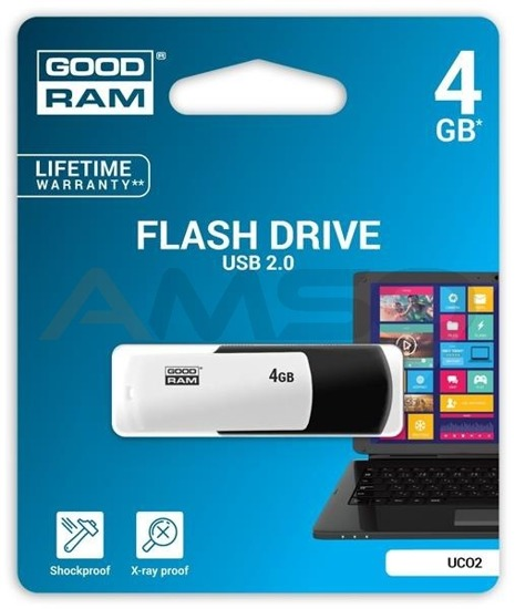 Pendrive GOODRAM COLOUR BLACK&WHITE 4GB Retail 9