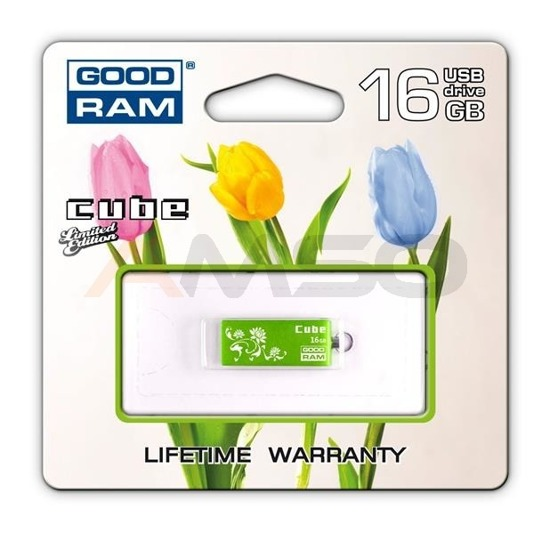 Pendrive GOODRAM CUBE 16GB GREEN SPRING EDITION
