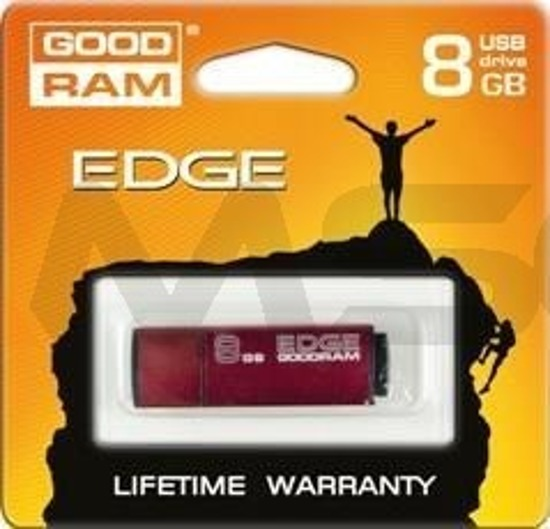 Pendrive GOODRAM EDGE 8GB Slim Alu.