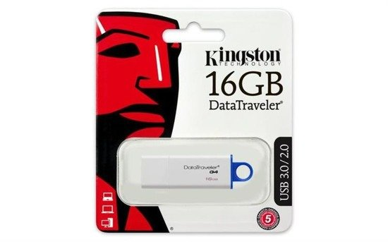 Pendrive KINGSTON DataTraveler G4 16GB USB 3.0