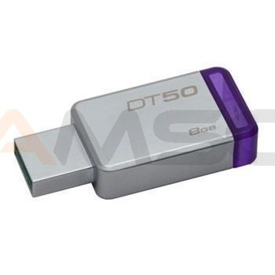 Pendrive Kingston Data Traveler 50 8GB USB 3.0 aluminiowy DT50/8GB