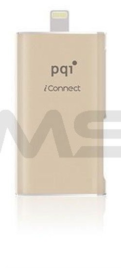 Pendrive PQI iConnect OTG do iPhone/iPad, 16GB gold