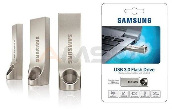 Pendrive Samsung 16GB USB 3.0 Flash Drive BAR (Std.) MUF-16BA/EU 130 MB/s