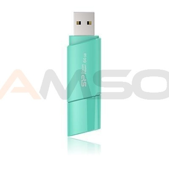 Pendrive Silicon Power 16GB 2.0 Ultima U06 Aqua Blue