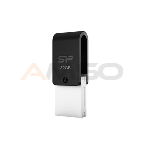 Pendrive Silicon Power 16GB OTG+USB2 Mobile X21 mUSB to USB