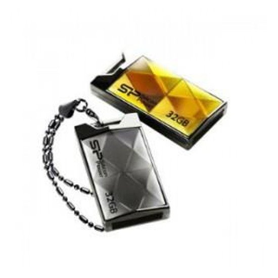 Pendrive Silicon Power 32GB Touch 850 Amber Luxury Design