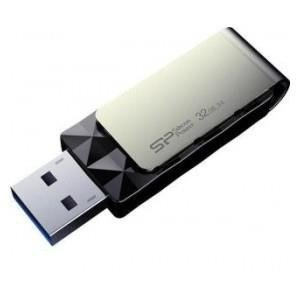 Pendrive Silicon Power 32GB USB 3.0 Blaze B30 Black
