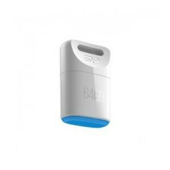 Pendrive Silicon Power 64GB USB 2.0 Touch T06 White