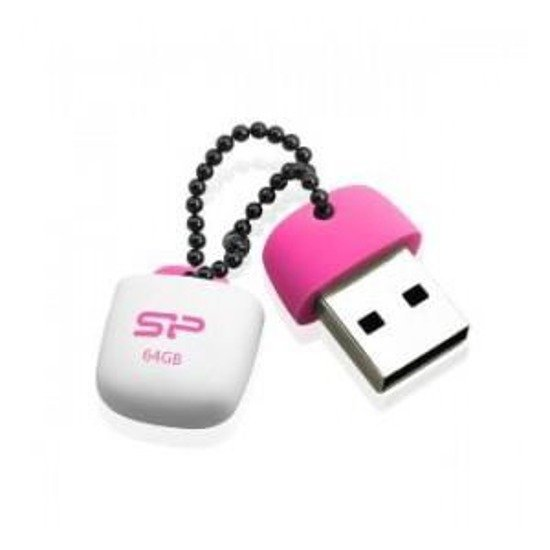 Pendrive Silicon Power 64GB USB 2.0 Touch T07 Rosy Pink