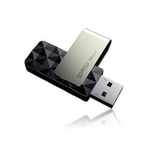 Pendrive Silicon Power 64GB USB 3.0 Blaze B30 Black