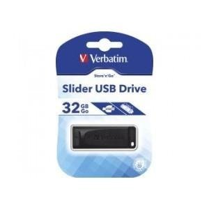Pendrive Verbatim 32GB Slider USB 2.0