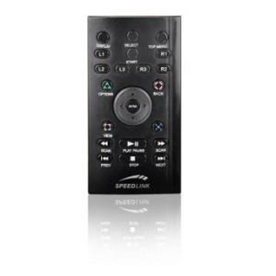 Pilot Speedlink SCUD Media Remote PS3, black
