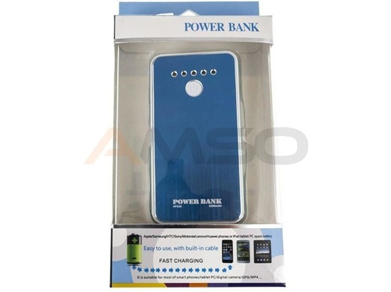 Power Bank Green Cell PB06 5200mAh złoty