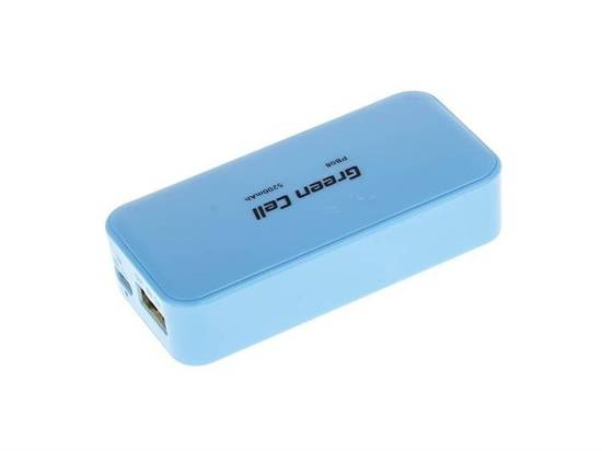 Power Bank Green Cell PB08 5200mAh niebieski