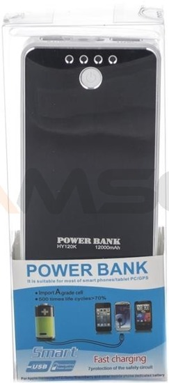 Power Bank Green Cell PB28 12000mAh czarny