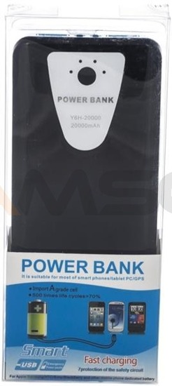 Power Bank Green Cell PB31 20000mAh czarno-niebieski