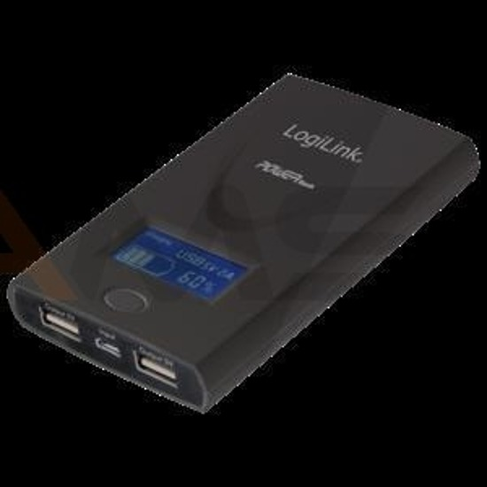 Power Bank LogiLink PA0050B 6000 mAh, czarny