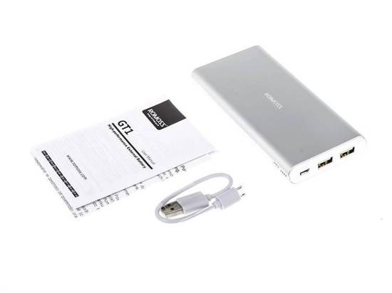 Power Bank Romoss GT1 10000mAh Li-Poly NOWOŚĆ Model 2016 QR