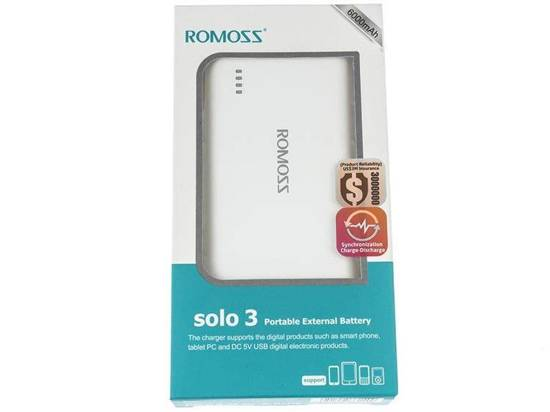 Power Bank Romoss Solo 3 PB12 6000mAh