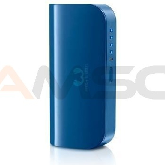 Power bank Fresh 'N Rebel 5200 mAh 2 porty indigo