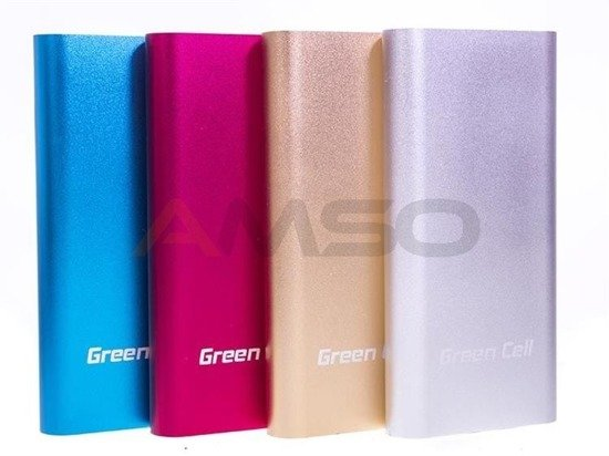 Power bank Green Cell 18000mAh PB57 czerwony