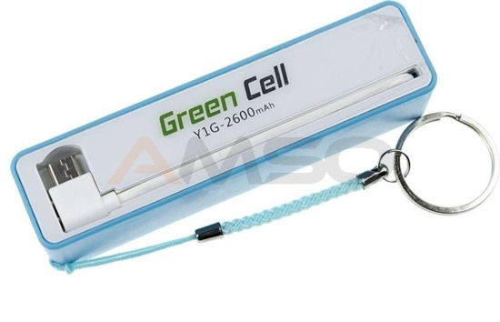 Power bank Green Cell PB04 2600mAh niebieski