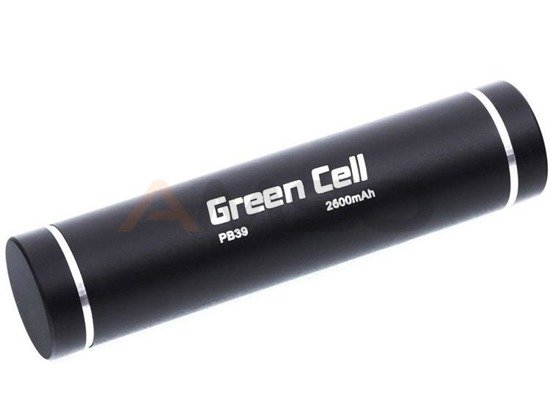 Power bank Green Cell PB39 2600mAh czarny