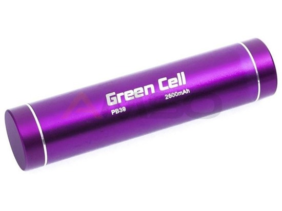 Power bank Green Cell PB39 2600mAh fioletowy