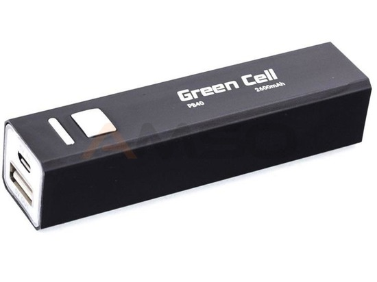 Power bank Green Cell PB40 2600mAh czarny