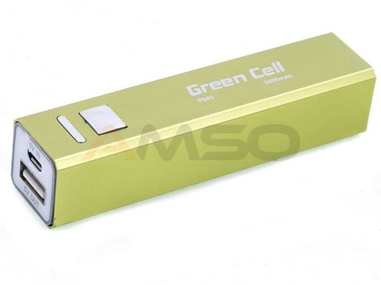 Power bank Green Cell PB40 2600mAh zielony