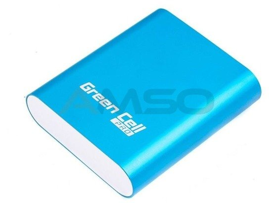 Power bank Green Cell Pro PB38 10400mAh niebieski