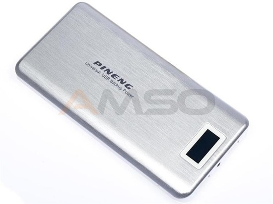 Power bank Pineng 20000mAh PN-999 srebrny