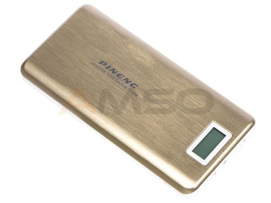 Power bank Pineng 20000mAh PN-999 złoty