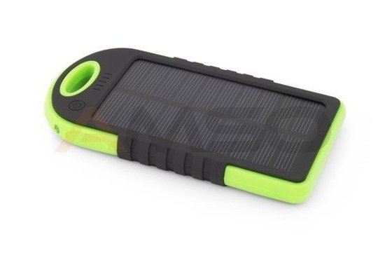 "Power bank Solar Esperanza 5200mAh ""Sun"" czarno/zielony"