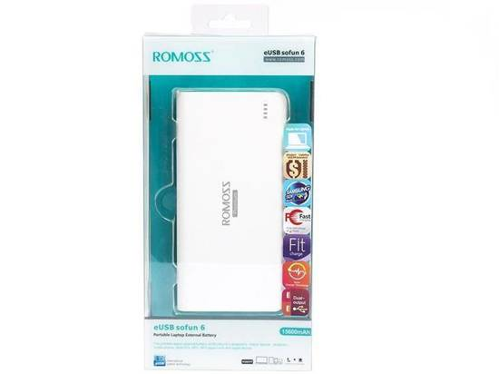 Power bank do laptopa Sofun 6 Romoss 15600mah