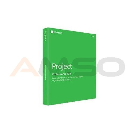Project Professional 2016 English Medialess
