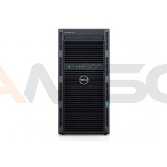 Serwer Dell PowerEdge T130 E3-1220v5/4GB/2x1TB/S130/3Y NBD