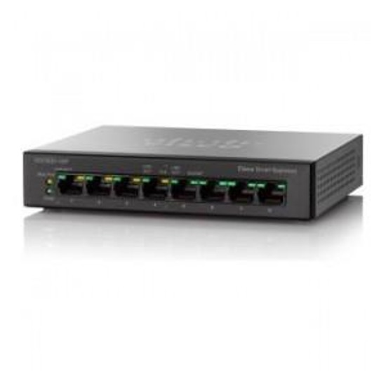 Switch Cisco SG100D-08P-EU 8x10/100/1000 PoE