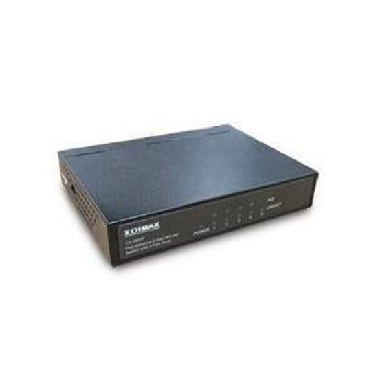 Switch Edimax ES-5804P 5x10/100 4xPoE+ 120W 802.3at