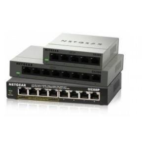 Switch Netgear GS308P 8 x 10/100/1000 4xPoE 53W Metal